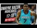 Hornets SG Dwayne Bacon 2017-2018 Season Highlights ᴴᴰ