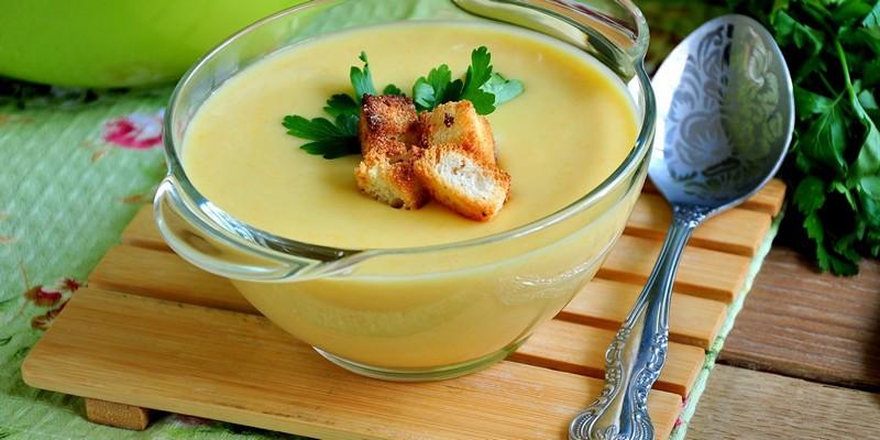 крем суп из кабачков диетический