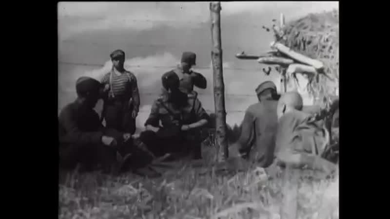 №4 2 1 08 1941 Рюти и Маннергейм в Миккели Братья по оружию Свинхувуд на фронт
