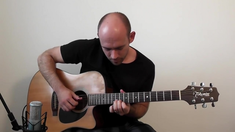 Metallica - Nothing Else Matters (Leandro Casan acoustic guitar solo cover)
