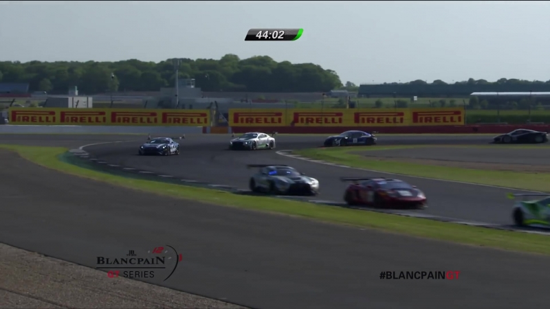 Blancpain GT Series Endurance Cup 2018. Round 4. Silverstone. Race Part 2
