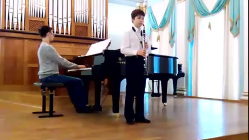 Концерт для кларнета Н.А. Римский-Корсаков