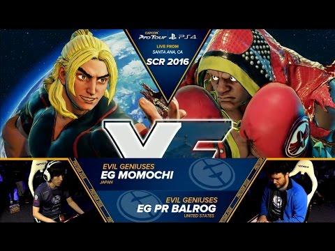 Momochi (Ken) vs PR Balrog (Boxer) - SoCal Regionals 2016 - Top 16