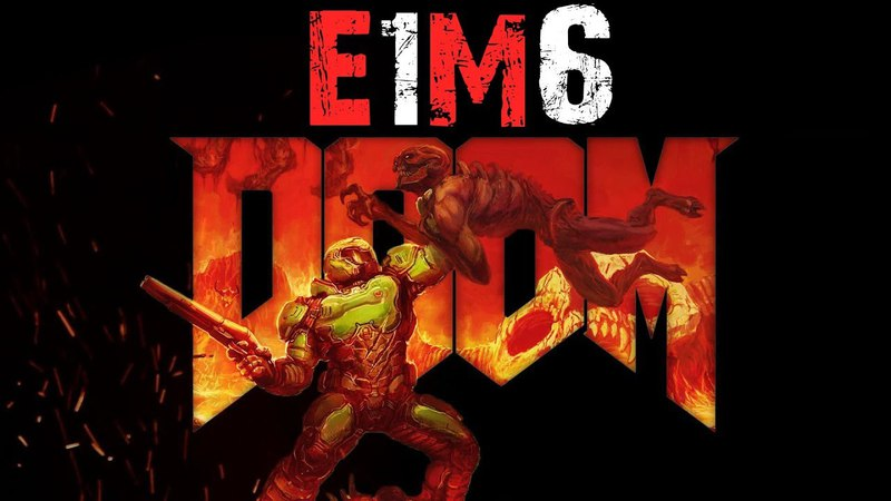 Project Brutality 3.0 ★ Ultimate Doom [E1M6] Прохождение
