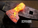 Отковали топор и насадили на топорище. Blacksmithing. How to forge an ax and make a hilt