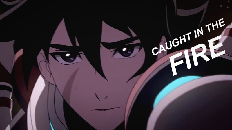 ❝Caught in the Fire❞ Keith Shiro; Voltron Legendary Defender