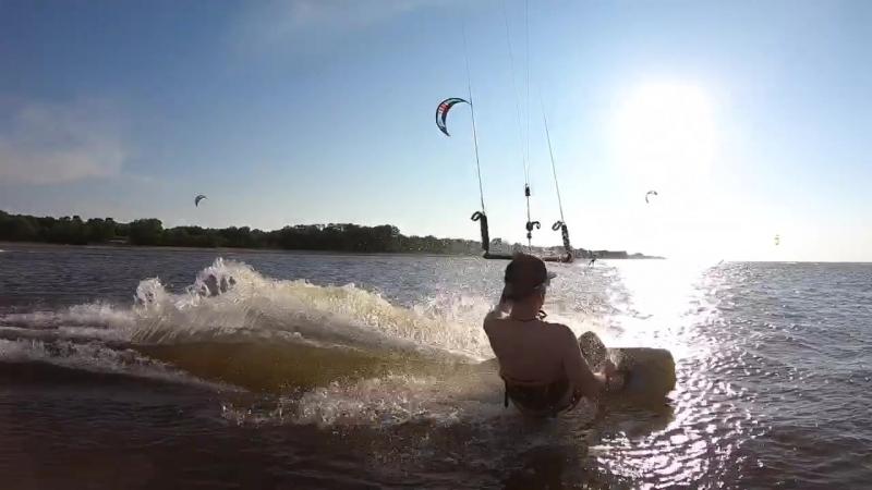 Проект кайтученик, kiteboarding в Санкт-Петербурге