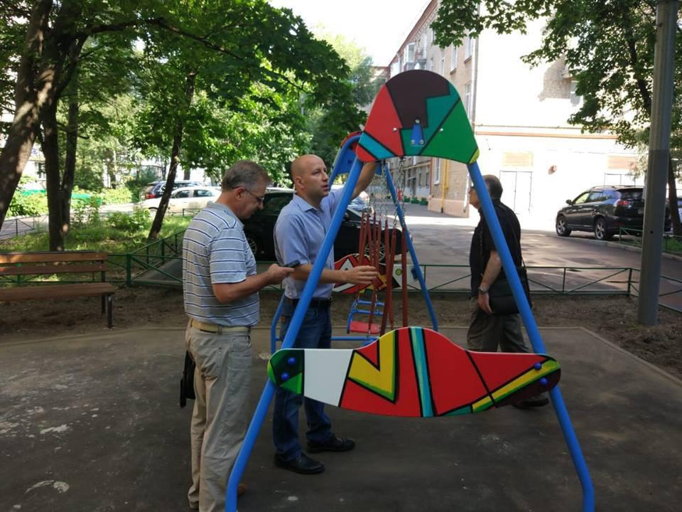 Глава управы Савеловского провел субботний обход