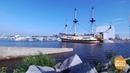 «Полтава» поднимает паруса. 26.07.2018