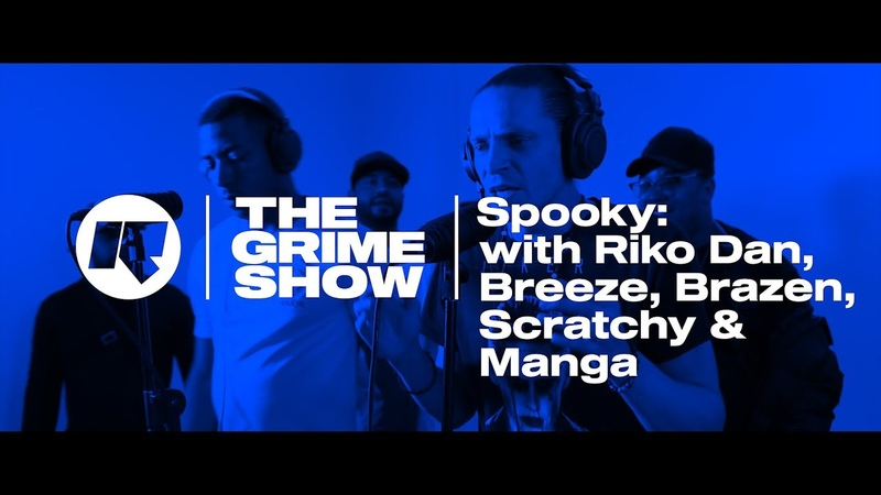 The Grime Show Spooky with Riko Dan Jamakabi Breeze Brazen Manga Scratchy