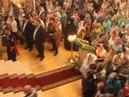 Впервые за 90 лет в этом Храме сотни голосов пропели Отче наш... (Боровичи)