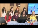 180412 Twice на радио SBS @ Power FM 2 O'clock Escape Cultwo Show.