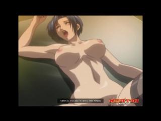 Horny teacher seduces student by surprise in class full video hentai/хентай 18+ [без цензуры : учительница, чулки]