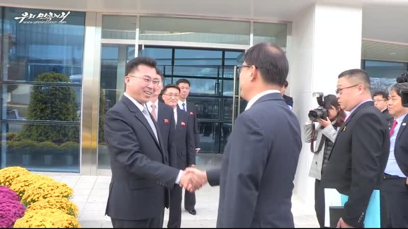 북남산림협력분과회담 진행
