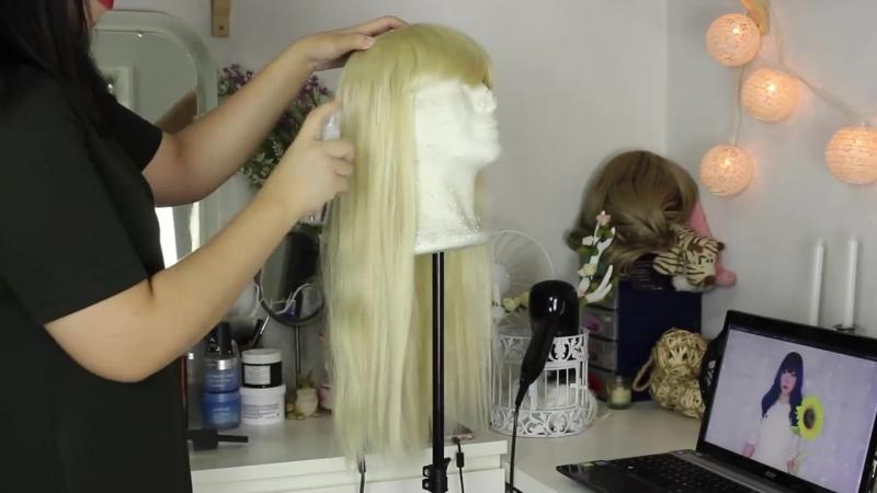 Мастер-класс по уходу за синтетическими париками
