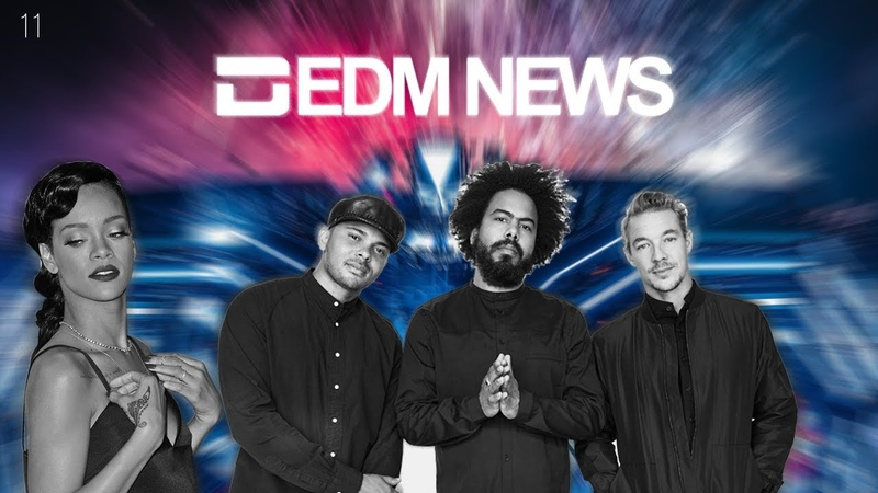 EDM News 11 (RU) - Major Lazer, Rihanna, Ultra Music Festival, Natus One