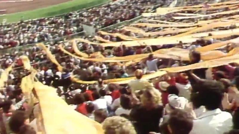 Рома - Ювентус 3:0. В этот день. Шоу на трибунах. 16.03.1986