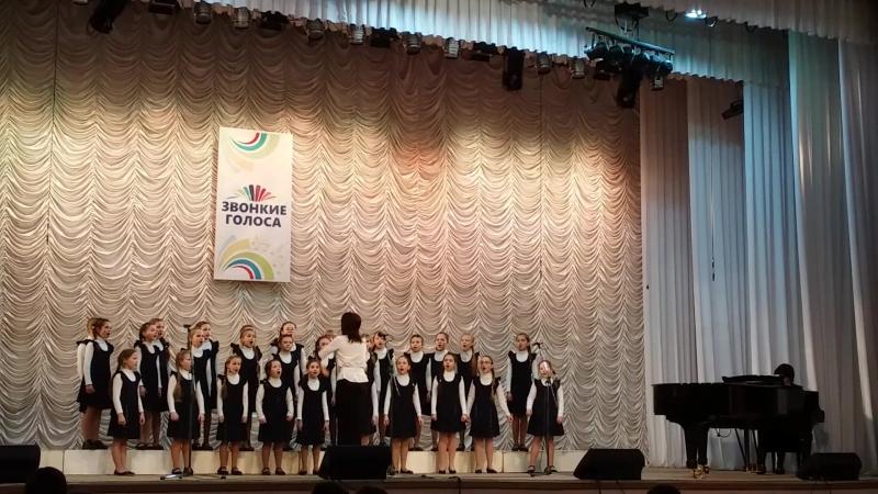 Хорошо Кантилена на конкурсе Звонкие голоса в г. Сыктывкар 22.04.2018