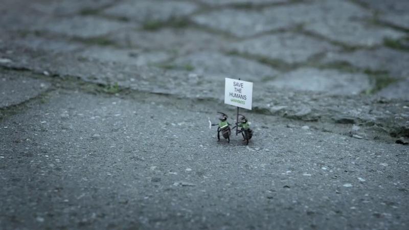 СПАСИТЕ ПЧЁЛ социальный ролик от Гринпис! Greenbees Greenpeace