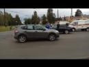 Авария на перекрестке Судостроительная и Ключевая