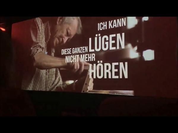 In einem Kino in Dresden Es kommt die Zeit