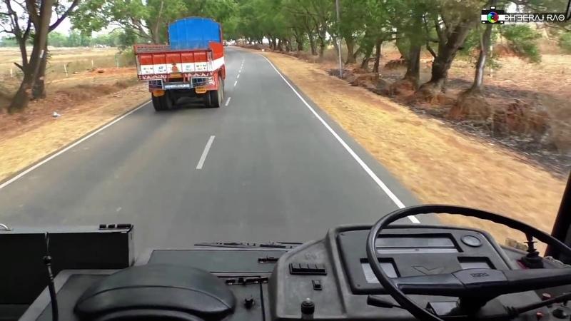 Thrilling Crew Cabin Ride on KSRTCs TATA Motors Rajahamsa