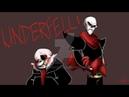 Underfell Animation Санс и Папирус встречают Смерть!