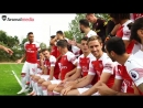 Arsenal - BEHIND THE SCENES Squad photoshoot 2018/19