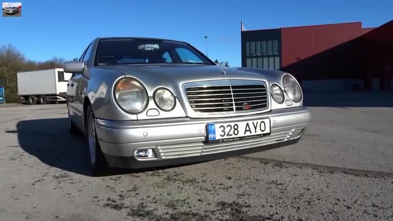 Замена противотуманки Mercedes W210 Fog Light Replacement
