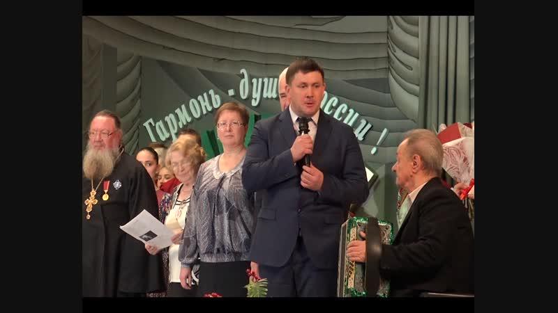 Каменский гармонист Александр Устьянцев отметил 80 лет (4,37)