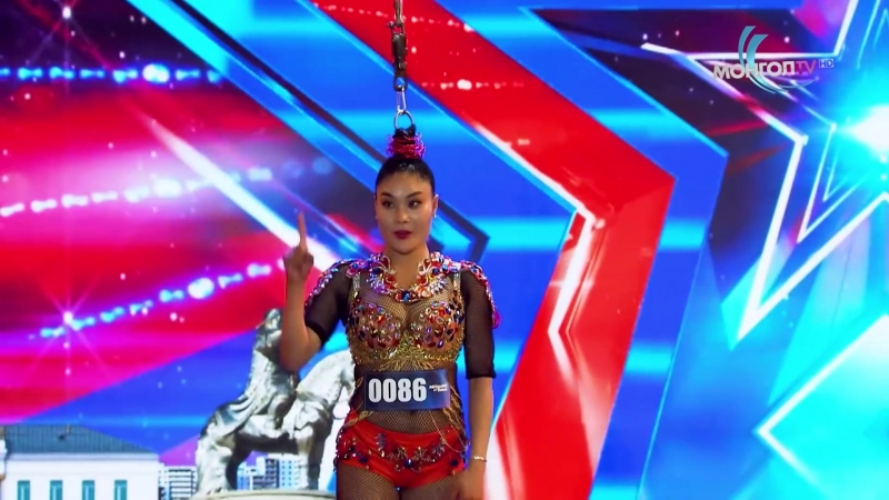 С Элбэрэл I Үснээсээ дүүжлэгдэгч бүсгүй I 1 р шат I Дугаар 4 I Mongolias got talent 2018