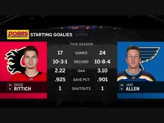 NHL 2018-2019 / RS / 16.12.2018 / Calgary Flames - St. Louis Blues