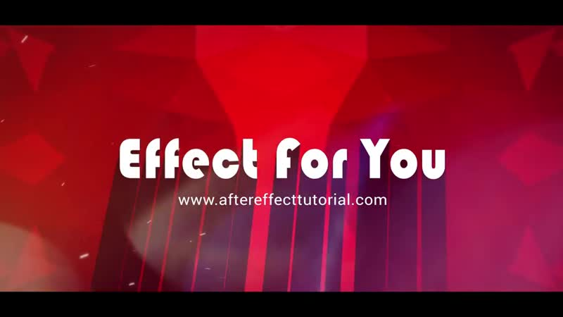 Action Trailer Title In After Effect _ After Effects Tutorial _ Effect For You