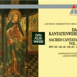 Nikolaus Harnoncourt альбом Bach : Sacred Cantatas Vol.8 : BWV 138-140, 143-159, 161-162
