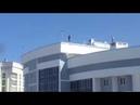 «Селфи над пропастью» жители Энгельса испугались за подростков, забравшихся на крышу высотки
