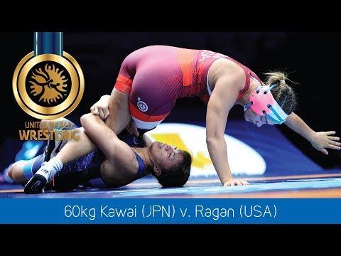 GOLD WW - 60 kg: R. KAWAI (JPN) df. A. RAGAN (USA) by VSU, 13-0