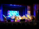 Мы выступали арабский танец