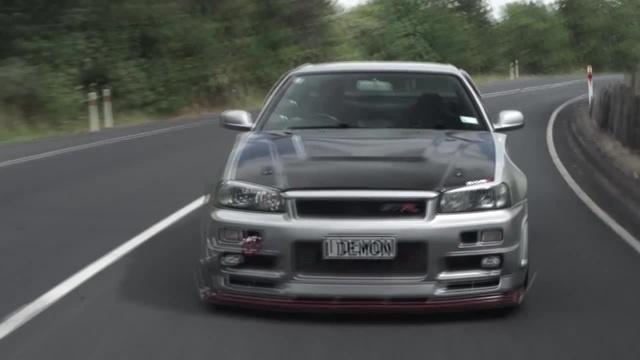 Nissan GT-R 34 \LOUD - Lost