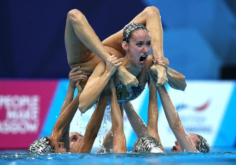 Чемпионат Европы по синхронному плаванию в Глазго.