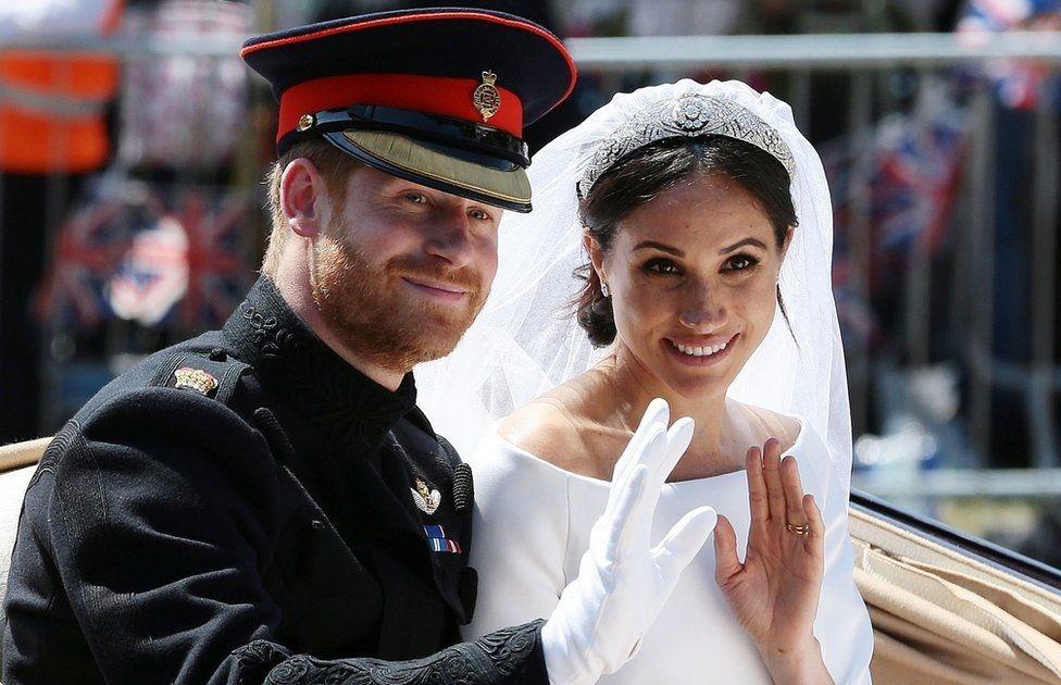 Свадьба герцога и герцогини Сассекских