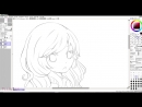 1 - Lineart 【Digital Coloring Tutorial】|درس رسم خطوط التحديد