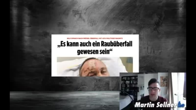 Überfallener AFD-MdB und die Skandal- Reaktionen vom linksradikalen System...