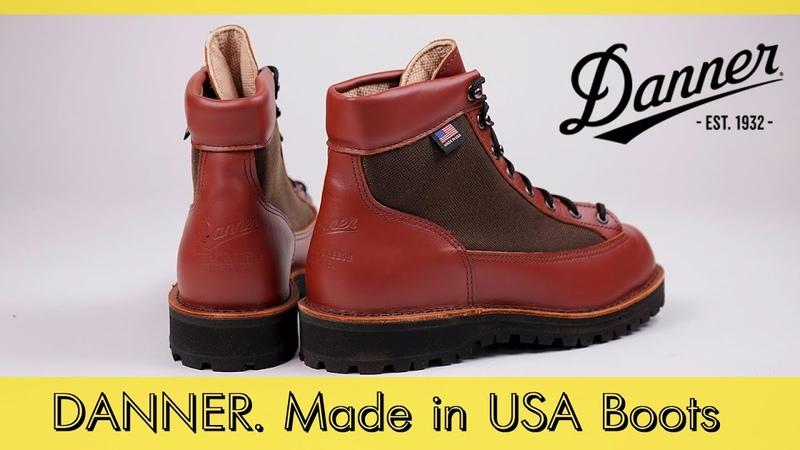Новинки - Danner Light Gore-Tex Cordura, Danner Work Bull Run. Made in Portland, USA