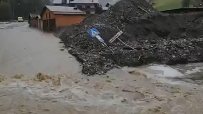 Disastro ! Val Agordina devastá ! 😔 Terra Veneta
