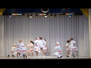 Открытие сезона ДК Заря 06.10.2018 (Империя танца) старший состав