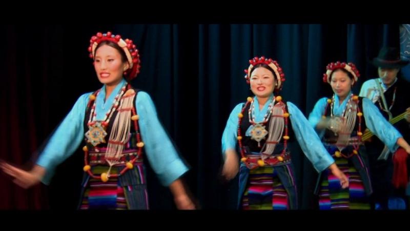 Tibetan dance from NTLA( Nepal Tibetan Lhamo Association)