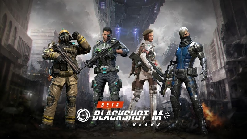 BLACKSHOT M: GEARS [BETA ANDROID] - PvP ШУТЕР НА ТЕЛЕФОНЕ