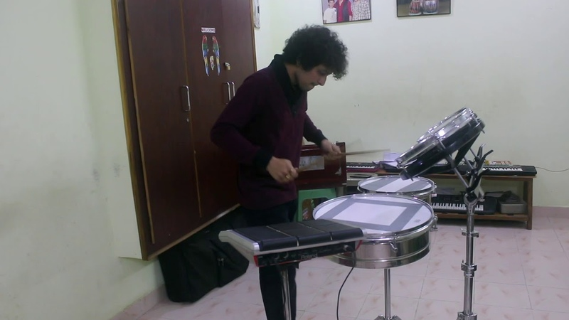 ROTOS TIMBALES RHYTHM SOLO BY PAVAN