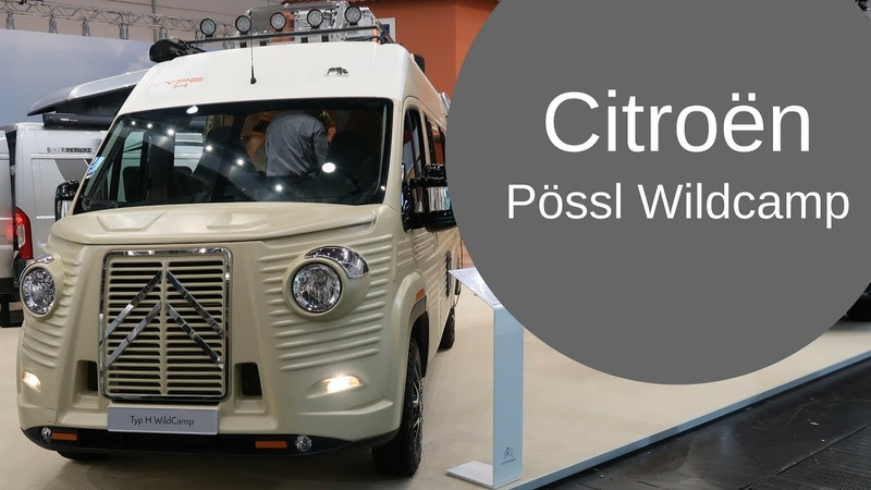 Citroen Jumper Pössl Wildcamp H Retro Style Van