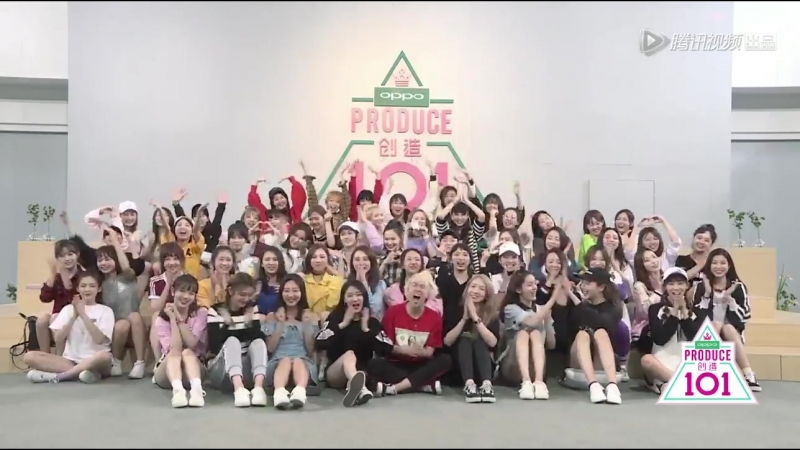 [VIDEO] 180502 Tencent Produce 101 girls wishing their initiator and MC Z.TAO a happy birthday